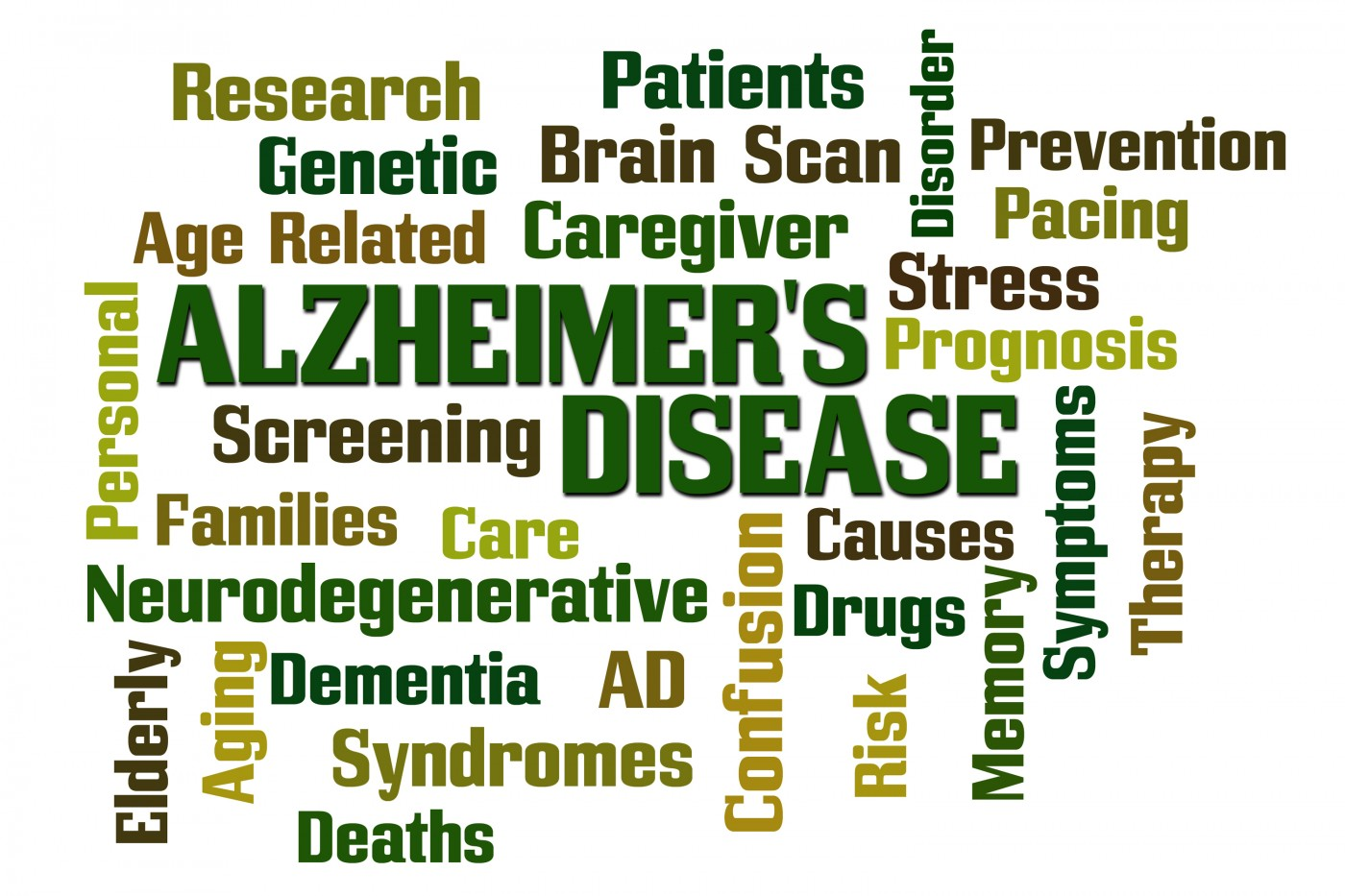the study of alzheimers disease and The depression in alzheimer's disease study (diads)  diagnosis of probable  alzheimer's disease (ad) by nincds/adrda criteria (mckann et al, 1984),.