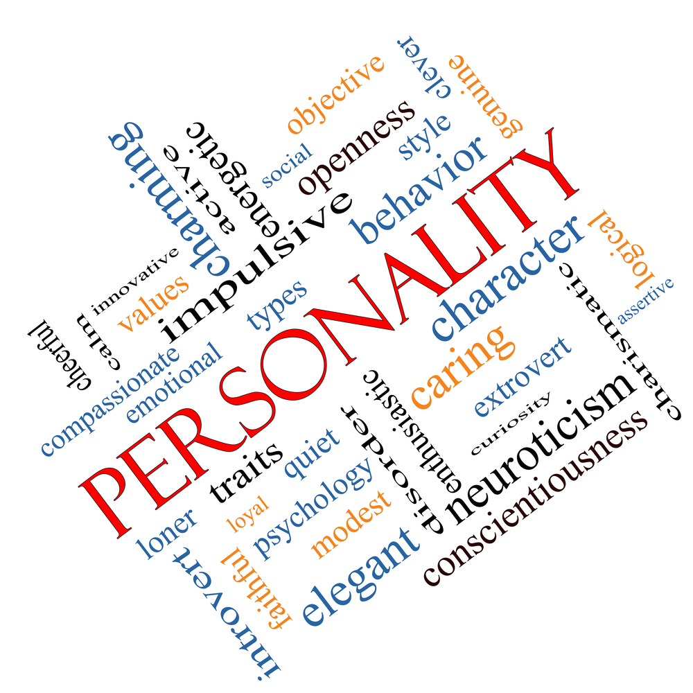 personality word cloud traits character terms behavior concept conscientiousness cheerful such assertive angled shutterstock certain depositphotos prone disease
